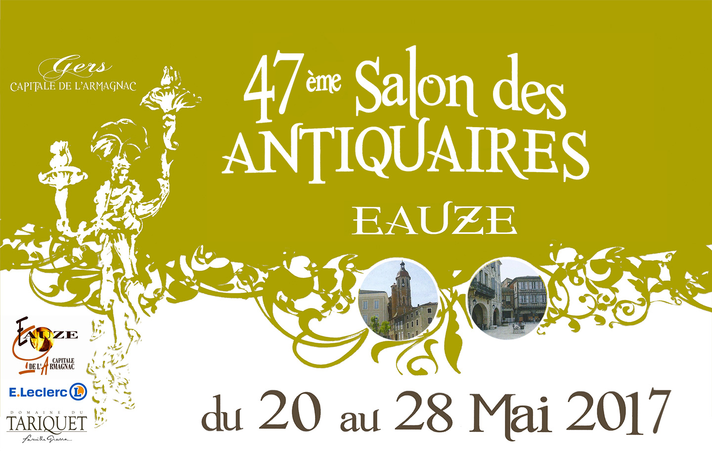 Salon des antiquaires d 39 eauze 2017 du 20 au 28 mai 2017 for Salon antiquaires 2017